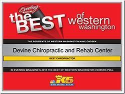 Best of Western WA Winner Certificate