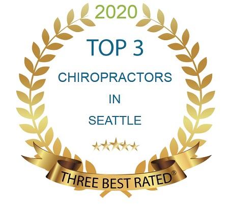 TOP 3 CHIROPRACTORS IN SEATTLE AWARD